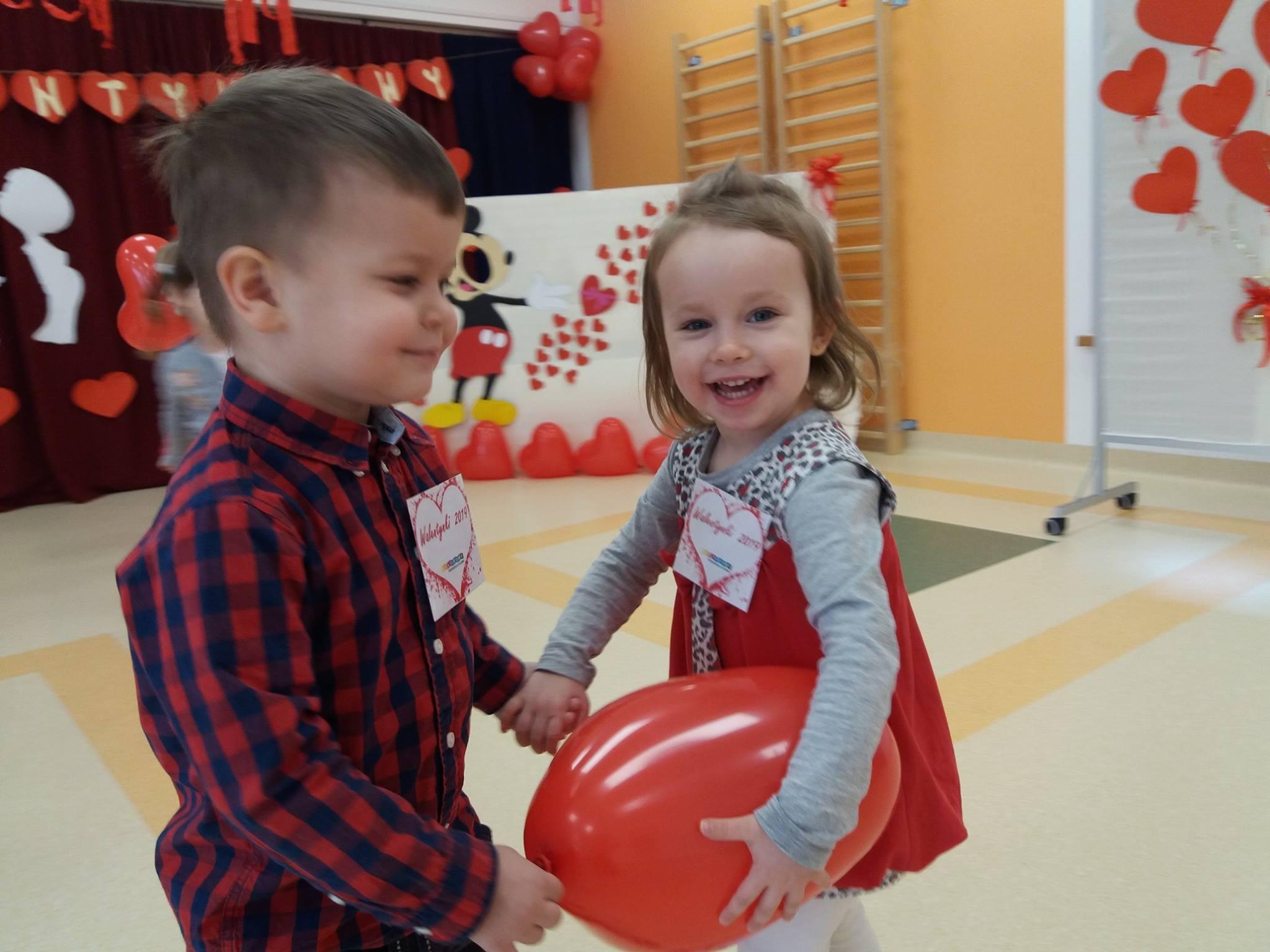 Walentynki w Kolorowym Przedszkolu