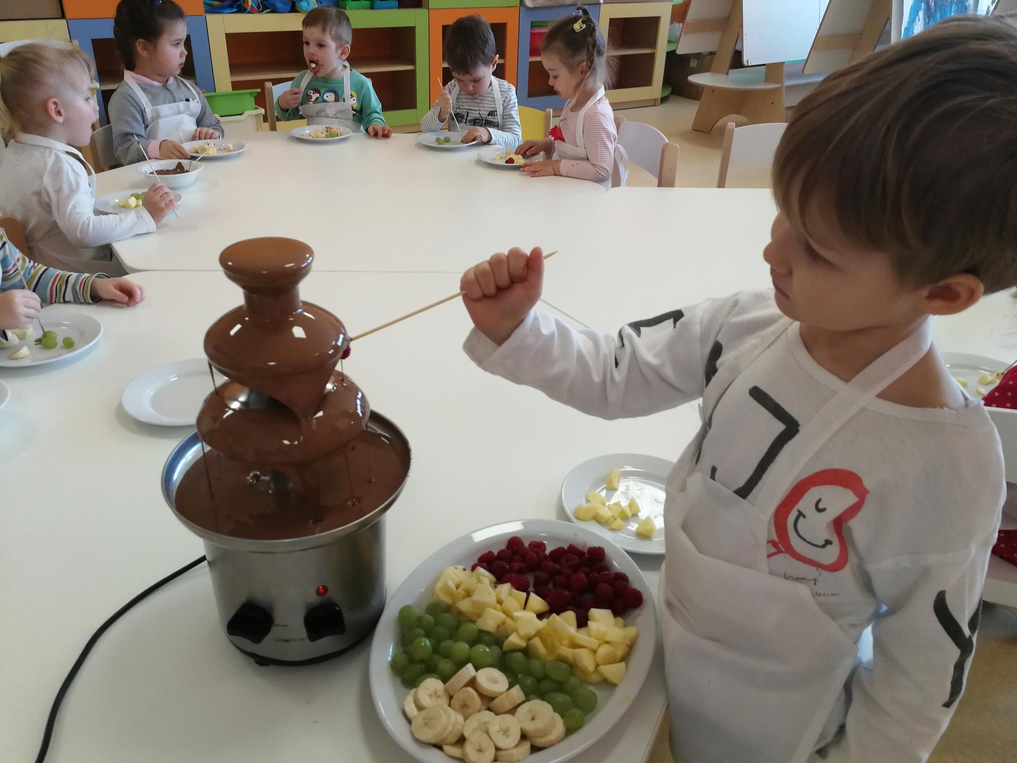 Dzień Czekolady w Kolorowym Przedszkolu
